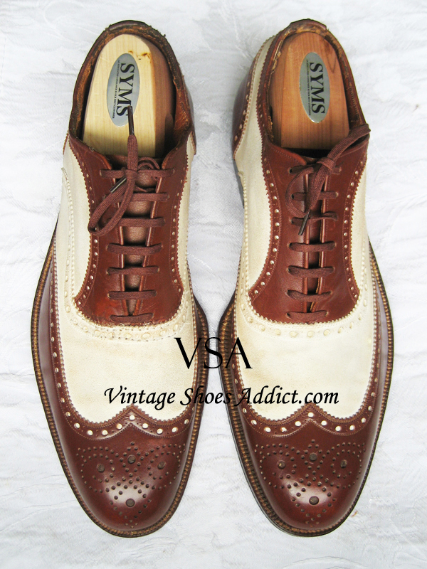 Spectator shoes mens vintage antique thru modern styles traditional spectator shoes publicscrutiny Choice Image